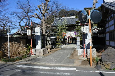 金蔵寺 入口