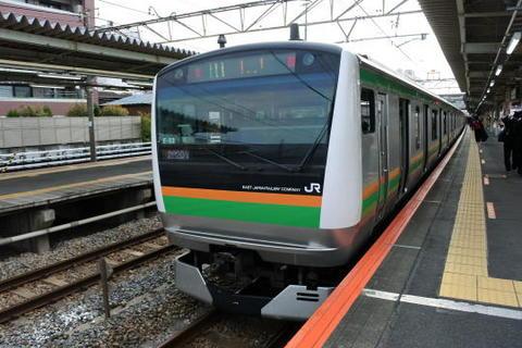湘南新宿ライン経由の高崎行き